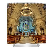 Eternal Search Shower Curtain