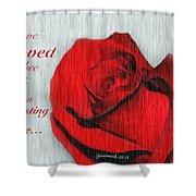 Eternal Valentine Shower Curtain