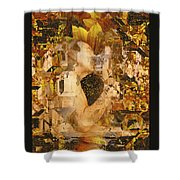 Eternally Yours Shower Curtain by Kurt Van Wagner