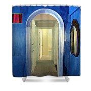 Eternity's Antechamber Shower Curtain