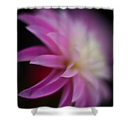 Ethereal Dahlia Shower Curtain