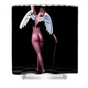 Ethereal Dance Shower Curtain