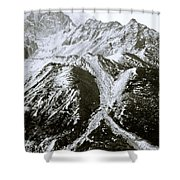 Ethereal Himalayas Shower Curtain