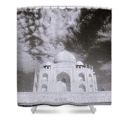 Ethereal Taj Mahal Shower Curtain