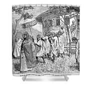Ethiopia Abuna, 1884 Shower Curtain