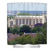 Eton College Chapel Shower Curtain