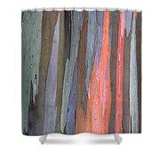 Eucalyptus Tree Bark Shower Curtain