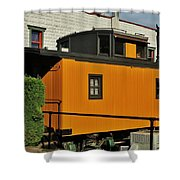 Eugene Caboose Shower Curtain