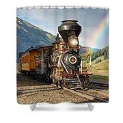 Eureka Rainbow Shower Curtain