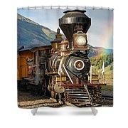 Eureka Rainbow Pan Shower Curtain