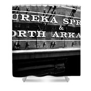 Eureka Springs Railroad Shower Curtain by Benjamin Yeager