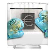 Euro Gloves-1 Shower Curtain
