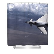 Eurofighter  Shower Curtain