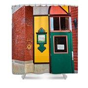 Evanston Wyoming - 2 Shower Curtain