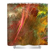 Eveil-4 Shower Curtain by RochVanh