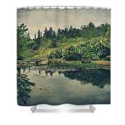 Even After You're Gone Shower Curtain by Laurie Search