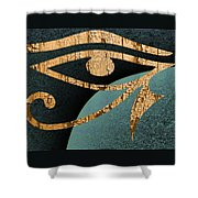 Even The Gods Must Die Shower Curtain