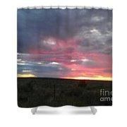 Evening Arizona Sky Shower Curtain