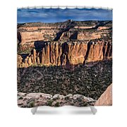 Evening At Colorado National Monument Shower Curtain