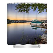Evening Calm Shower Curtain