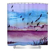 Evening Dance Shower Curtain