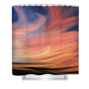 Evening Display Shower Curtain