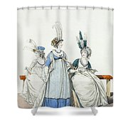 Evening Dresses For The Opera Shower Curtain