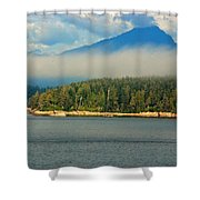 Evening Fog Shower Curtain
