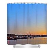 Evening Glow Shower Curtain
