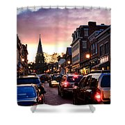 Evening In Annapolis Shower Curtain