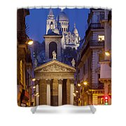 Evening In Paris Shower Curtain