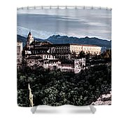 Evening In The Alhambra Shower Curtain