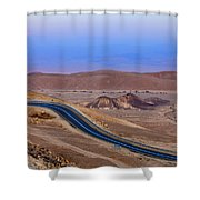 Evening In The Desert Shower Curtain