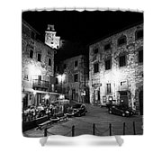 Evening In Tuscany Shower Curtain