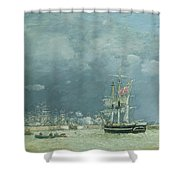 Evening Le Havre Shower Curtain