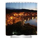 Evening Light In Collioure Shower Curtain