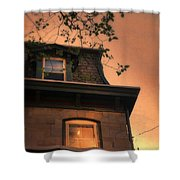 Evening Light On Old House Shower Curtain
