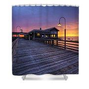 Evening Lights Shower Curtain