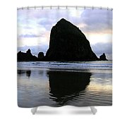 Evening Luster Shower Curtain by Will Borden