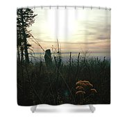 Evening Mist In Fall Shower Curtain
