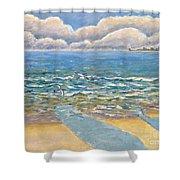 Evening North Myrtle Beach Shower Curtain