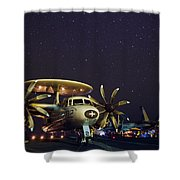 Evening On The Carrier Shower Curtain by Mountain Dreams