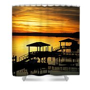 Evening On The May Shower Curtain
