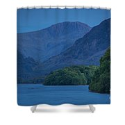 Evening Over Derwentwater Shower Curtain