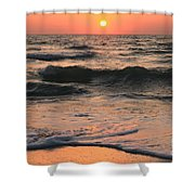 Evening Pastels Shower Curtain by Adam Jewell