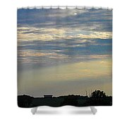 Evening Rays Shower Curtain