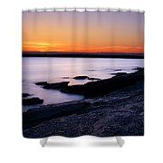 Evening Repose Shower Curtain