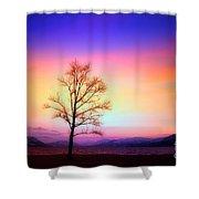 Evening Sky Shower Curtain