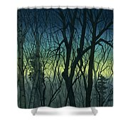 Evening Stand Shower Curtain