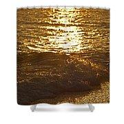 Evening Sun Hive Beach Four Shower Curtain